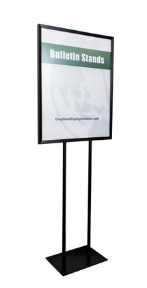 """Economy Poster Stand Display - Black - 22""""w x 28""""h 1/Pack"""