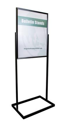 Premium poster stand - Displays 22 x 28 graphics