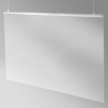 "Hanging Sneeze Guard - 36""w x 24""h"