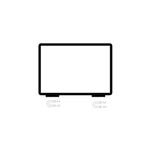 Magnetic Sign holder - Displays 11 x 7 Sign
