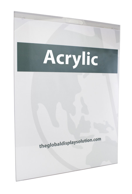 """Acrylic Wall Mount Sign Holder - 22""""w x 28""""h 1/Pack"""