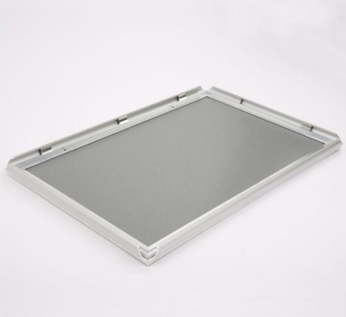 """Aluminum Snap Frame - Sliver - 11""""w x 8.5""""h  Insert"""