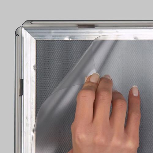 "Aluminum Snap Sign Frame - Silver - 22""w x 28""h Insert"
