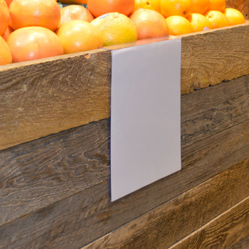 "Bin Hanging Sign Holder - 8.5""w x 11""h 10/Pack"