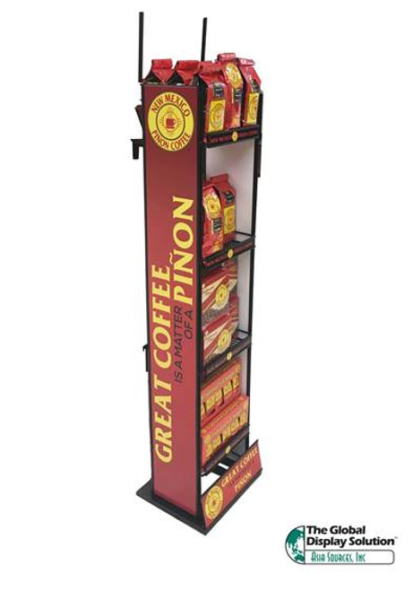 Coffee Wire Display - Store Fixture