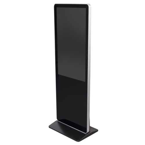 43'' Touch Screen Display - Floor Standing Digital Sign Tower - Black -  W/ Android OS