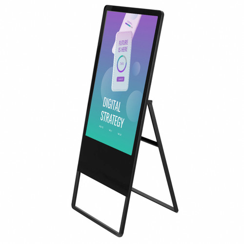 """43"""" Digital Touchscreen Display  - A-frame Style - Android OS"""