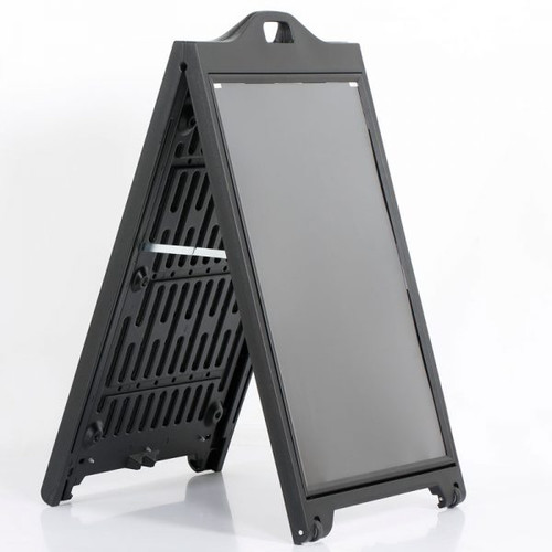 "Street SignPro Sidewalk A-Frame Sign Holder-Black-24""W X 36""H"