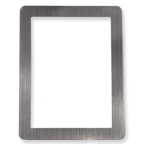 """5"""" x 7"""" Stick it Frame - Reuse and Reposition - Silver"""