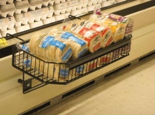 Cooler mount basket holding muffins