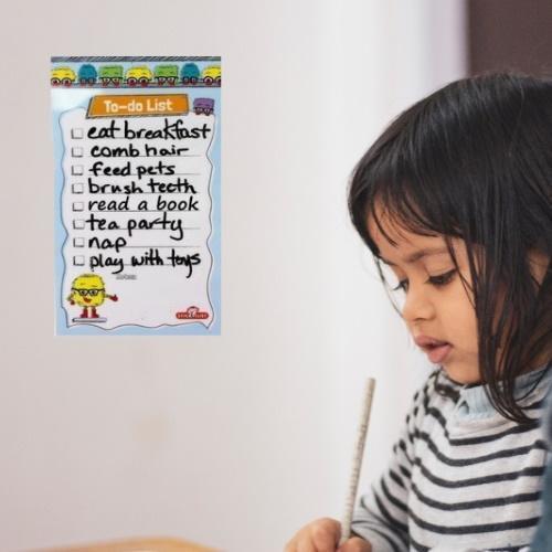 """STICKIT REUSABLE LIST – KIDS TO-DO LIST – 5"""" X 9"""""""