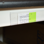 "Adhesive Price Tag Molding Displays 1 1/4"" Ticket"