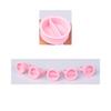 Glue Ring- Pink Split