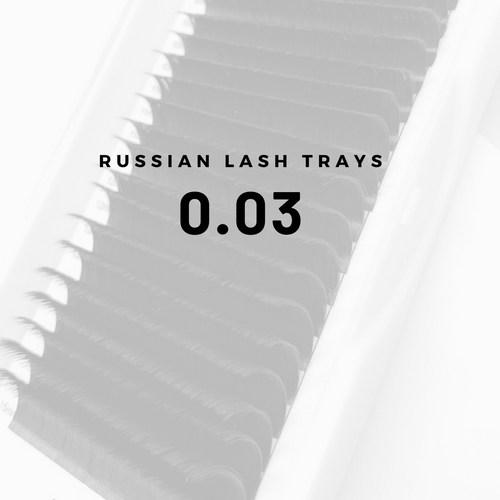 RUSSIAN 0.03 LASH TRAY
