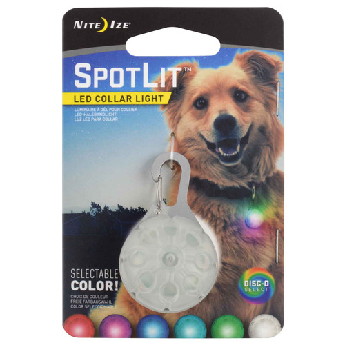 Nite Ize SpotLit Disc-O Select LED Collar Light
