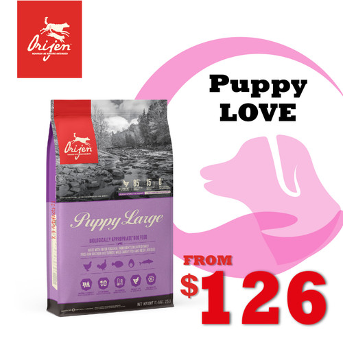 PUPPYLOVE 30% OFF ORIJEN Puppy Large