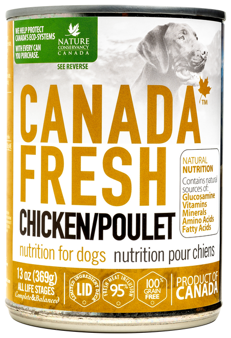 Canada Fresh Chicken Nutrition Wet Food