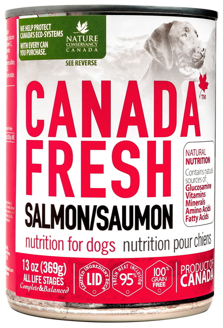 Canada Fresh Salmon Nutrition Wet Food