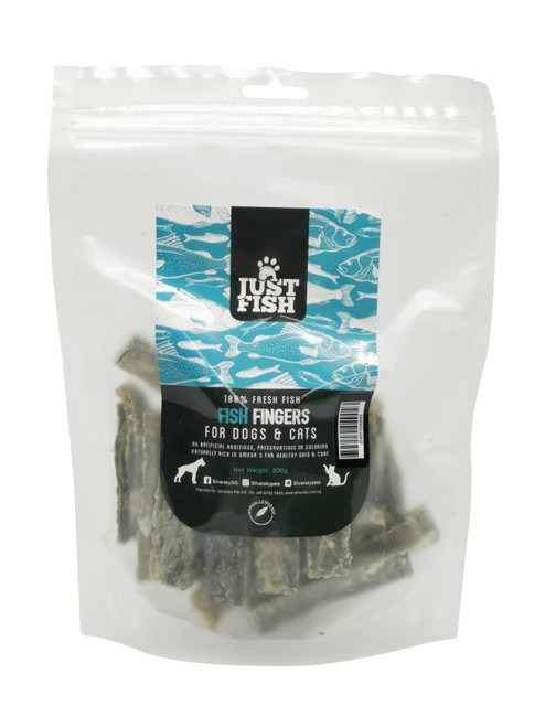 Just Fish Natural Fish Treats for Dogs and Cats