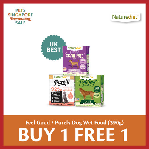 PSS Naturediet Feel Good & Purely Dog Food