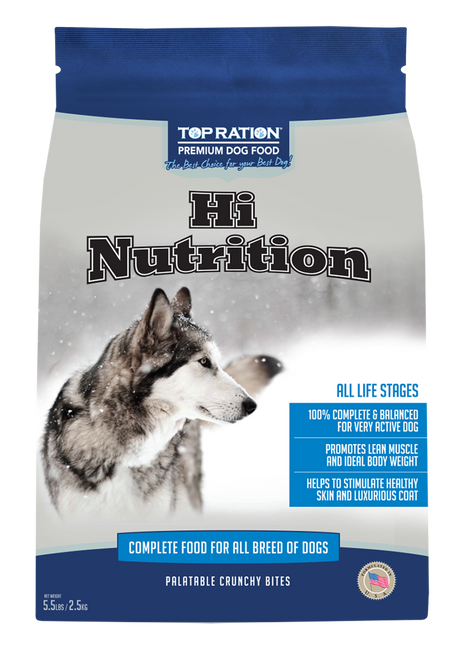 TopRation Hi Nutrition Dog Kibbles