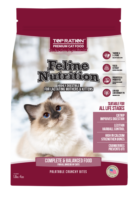 TopRation Feline Nutrition Cat Kibbles
