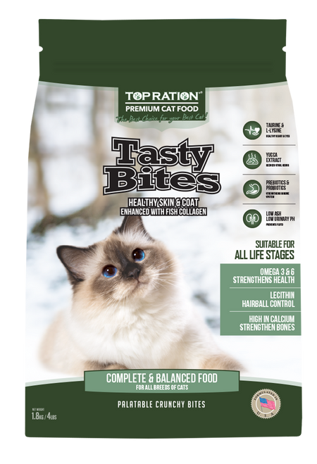 TopRation Tasty Bites Cat Kibbles