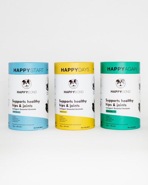 Happy Bond Joint Supplement for Dogs (Previously Happy Again)