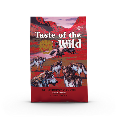 Taste Of The Wild South Canyon Canine Recipe with Wild Boar Dog Kibbles