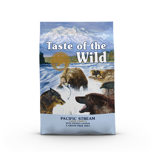 Taste Of The Wild Pacific Stream Canine Recipe with Smoked Salmon Dog Kibbles