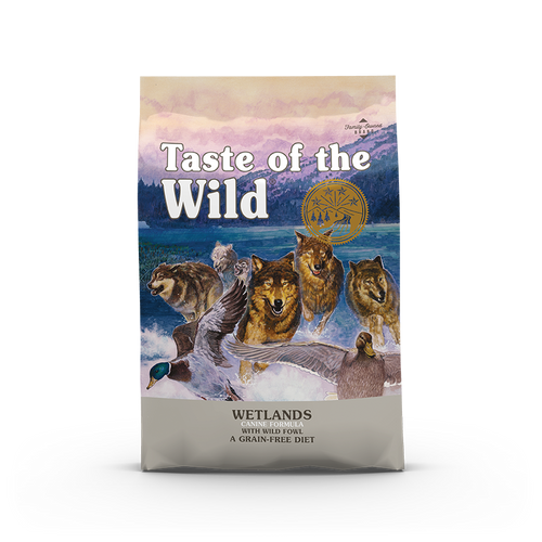 Taste Of The Wild Wetlands Canine Recipe with Roasted Fowl Dog Kibbles