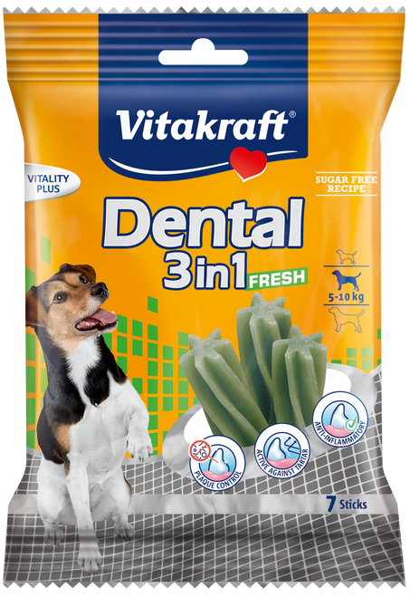 Vitakraft Dental 3 in 1 Spearmint S 120g