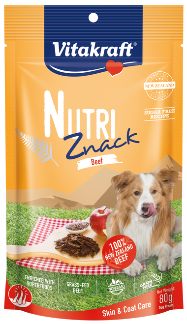 Vitakraft Nutri Znack Beef Skin & Coat Care Dog 80g