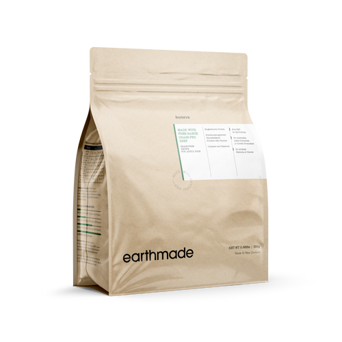 Earthmade Free Range Grass-Fed Beef Dry Food for Adult Dogs