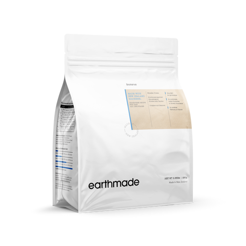 Earthmade New Zealand Mackerel Dry Food for Cats All Life Stages