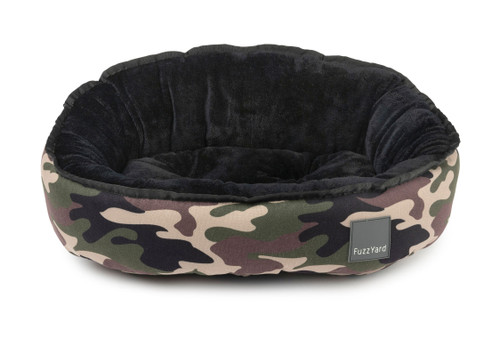 Fuzzyard Reversible Bed - Camo