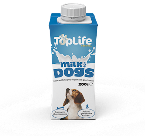 Top Life Goat Milk for Dogs 200ml
