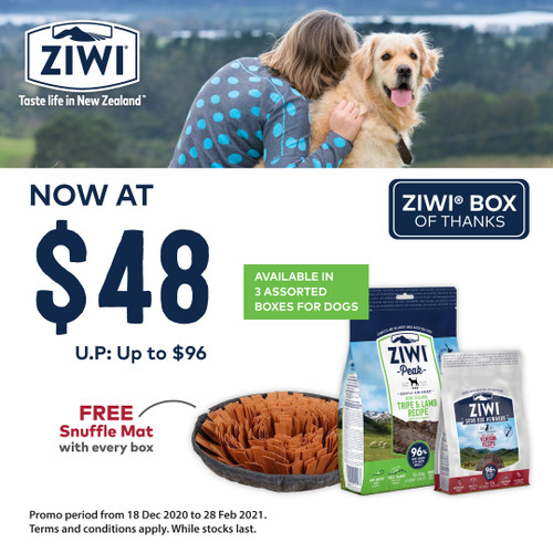 ZIWI Peak Box of Thanks for Dogs