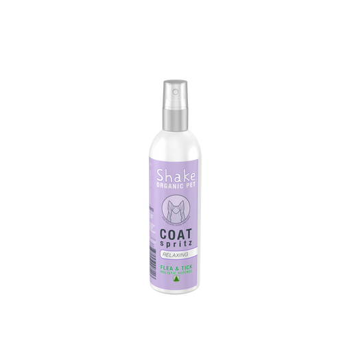 Shake Organic Coat Spritz - Relaxing 4.5 fl oz (133ml)