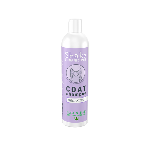 Shake Organic Coat Shampoo - Relaxing 8.5 fl oz (250ml)