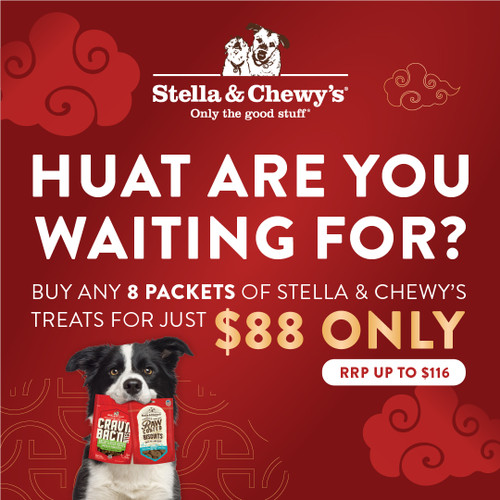 Stella and Chewy's CNY Promo