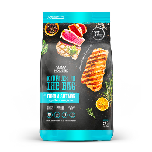 Absolute Holistic Kibbles In The Bag - Tuna and Salmon