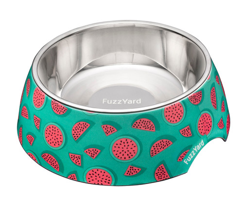 Fuzzyard Easy Feeder Bowl - Summer Punch