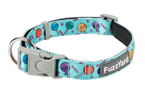 Fuzzyard Dog Collar - Hey Suckers