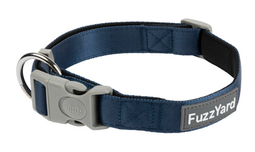 Fuzzyard Dog Collar - Marine