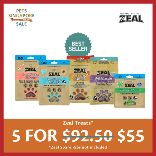 PSS Zeal Cat & Dog Treat Pouches