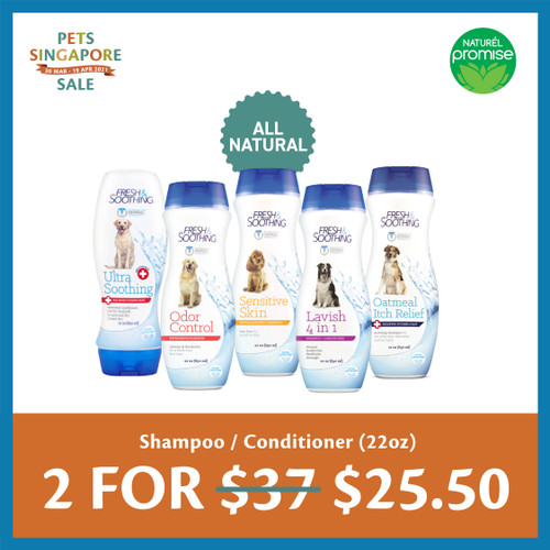 PSS Naturel Promise Shampoo and Conditioner
