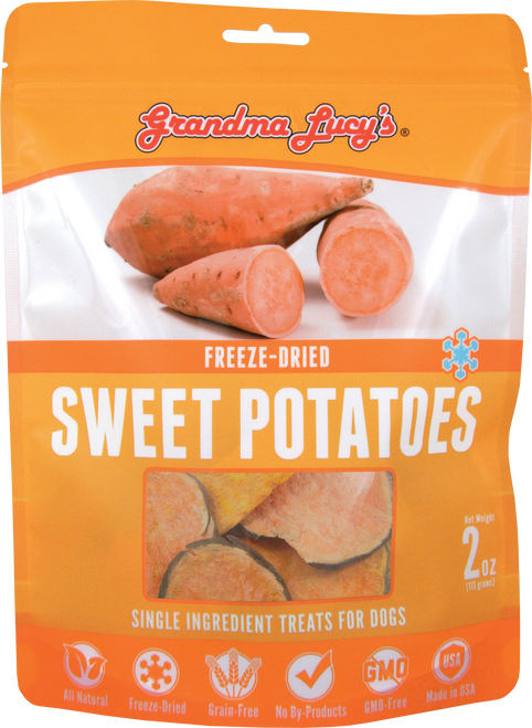 Grandma Lucy's Singles Treats - Sweet Potatoes