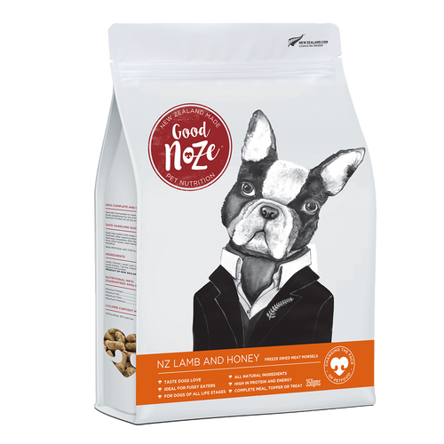 Good Noze Freeze Dried Dry Food - Lamb and Honey