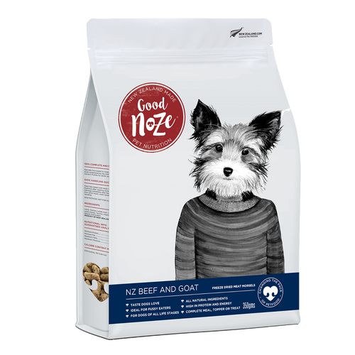 Good Noze Freeze Dried Food - Beef and Goat